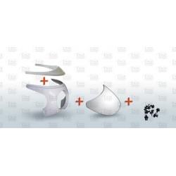 KIT tête de fourche bmw r90s +tableau de bord+bulle +vis nylons