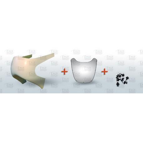 Kit tête de fourche type H1R, bulles, vis et poly